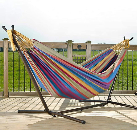 Portable Cotton Double Hammock Bed