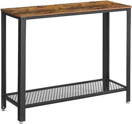 Sleek Metal Console Table