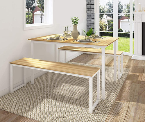 Modern Classy 3 Piece Dining Table Sets