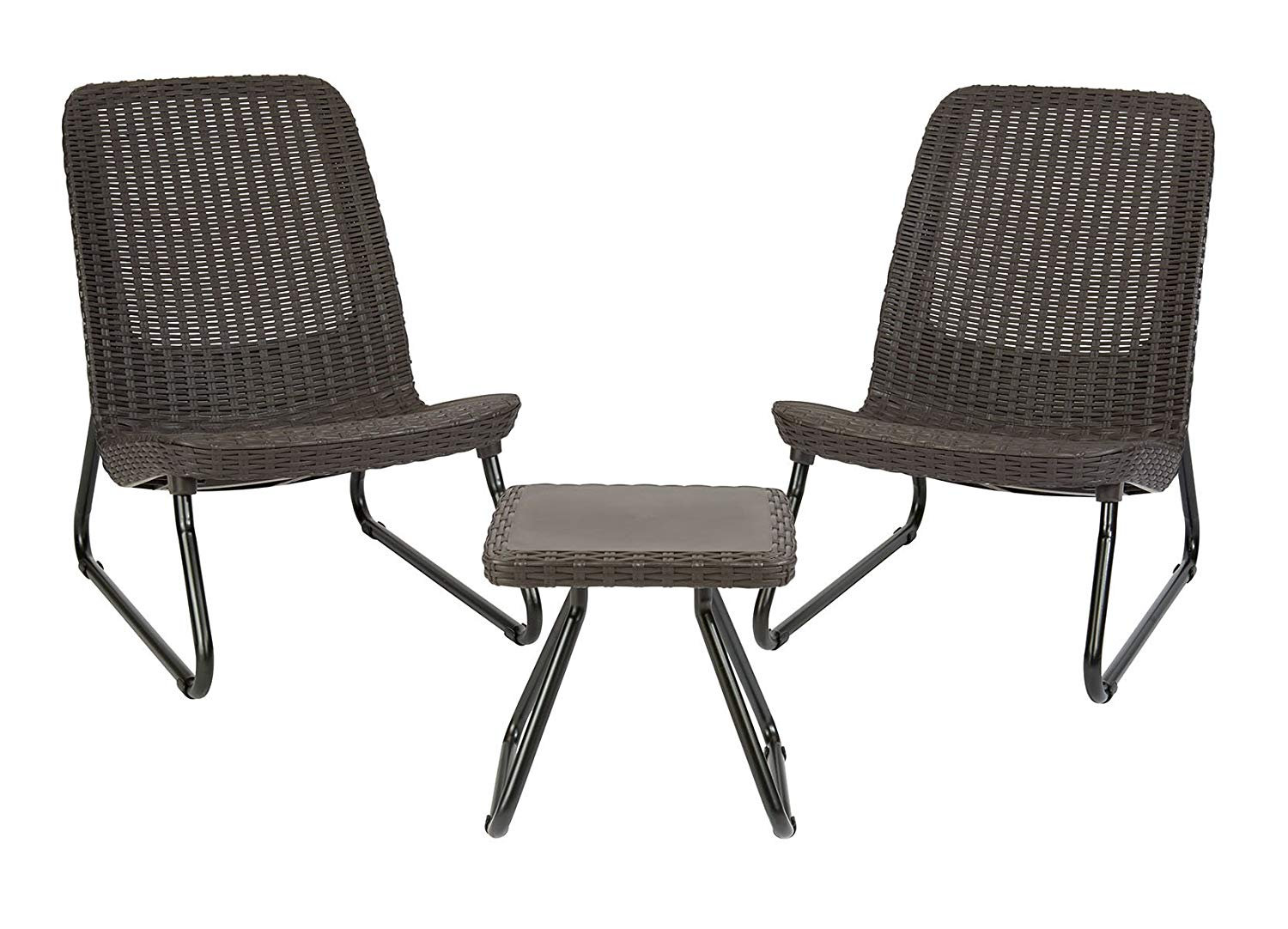 3 Piece All Weather Patio Chair Amp Table Set