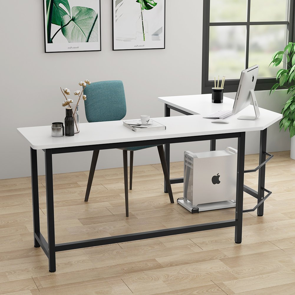 L-Shaped Computer Desk (Home Office