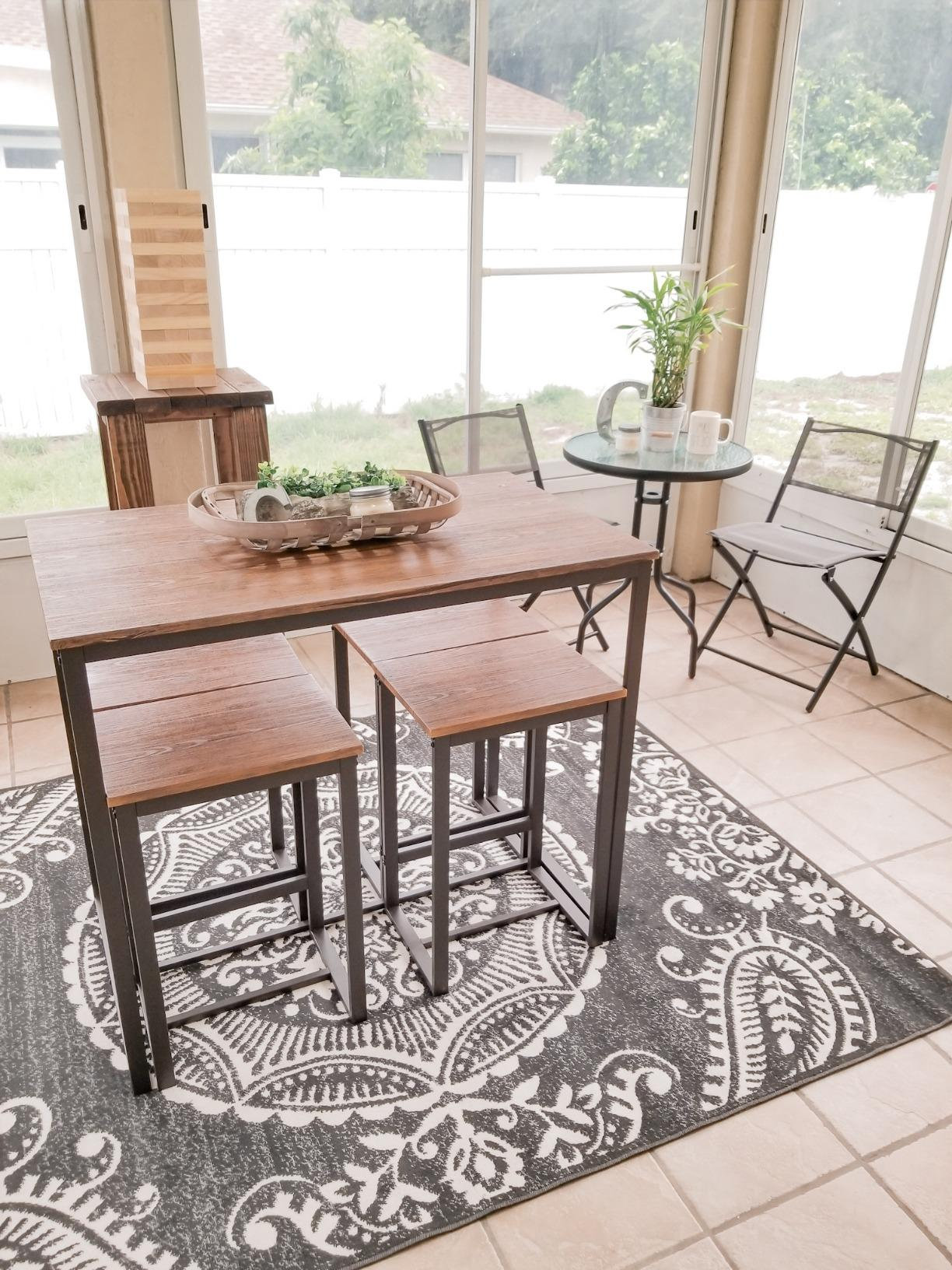 Versatile, Tall, Modern - Kitchen Table Set | Comfy Niche