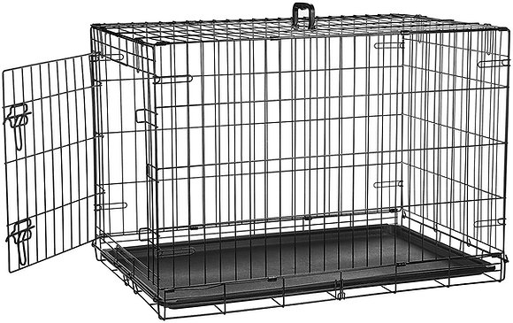 Foldable Metal Dog Crate