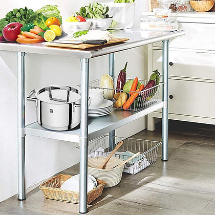 Stainless Steel Multi-Purpose Workstation Table