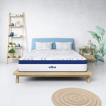 Vibe Quilted Gel Memory Foam and Innerspring Hybrid Mattress