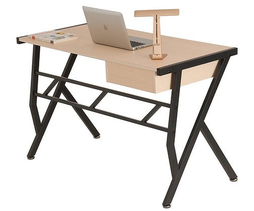 ProHT Small Computer Writing Desk with a Pullout Drawer