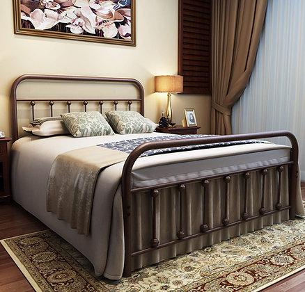 Vintage Style Metal Structure Bed Frame (Antique Bronze)