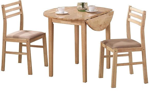 Coaster Wood 3-piece Dining Set