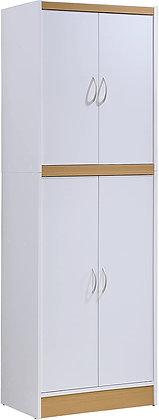 Sleek 4 Door Kitchen Pantry Shelf