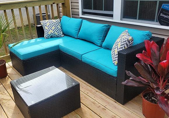 Cozy Outdoor Patio Sofa Set