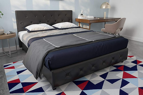 DHP Dakota Upholstered Platform Bed