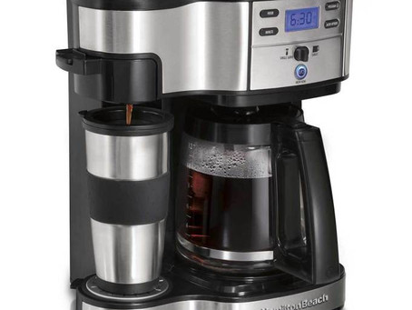 Hamilton Beach 49980A Single Serve Coffee Brewer and Full Pot Coffee Maker, 2-Way [Review]