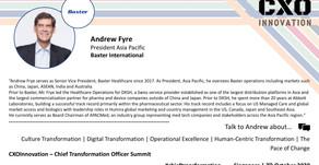 Speaker Update | Andrew Fyre