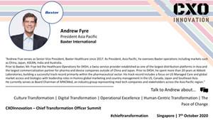 Speaker Update   Andrew Fyre