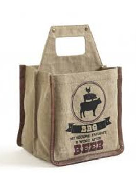 BBQ Beer Caddy