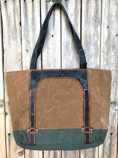 AVERY Dijon Work Tote with Laptop Sleeve