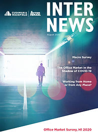 Cover of Inter News Office Market Review for First Half of 2020