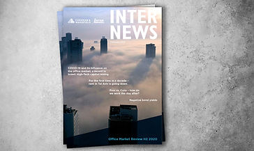 Inter News August 2020 Cover - Office Market Overview Second Half 2020