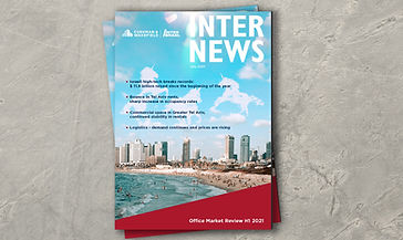 Inter News July 2021 Cover - Office Market Overview First Half 2021