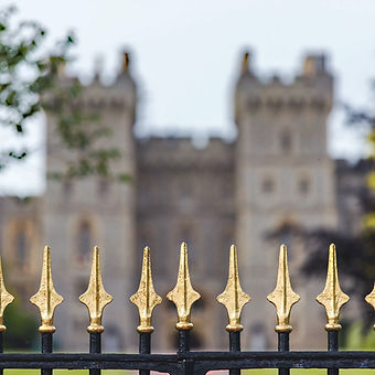 United Kingdom Castle real estate entrance