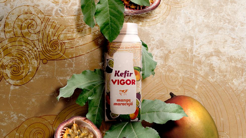 VIGOR - Kefir - Packaging