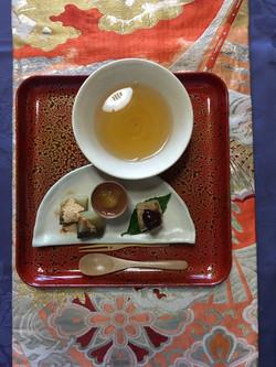 4日お煎茶