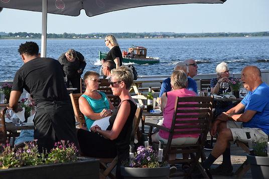 Grill - udendørs servering - buffet - Lø