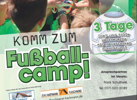 Neuer Termin: Campo Ballissimo Fußballcamp