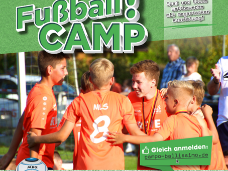Campo Ballissimo - Das Fußball camp. 2021