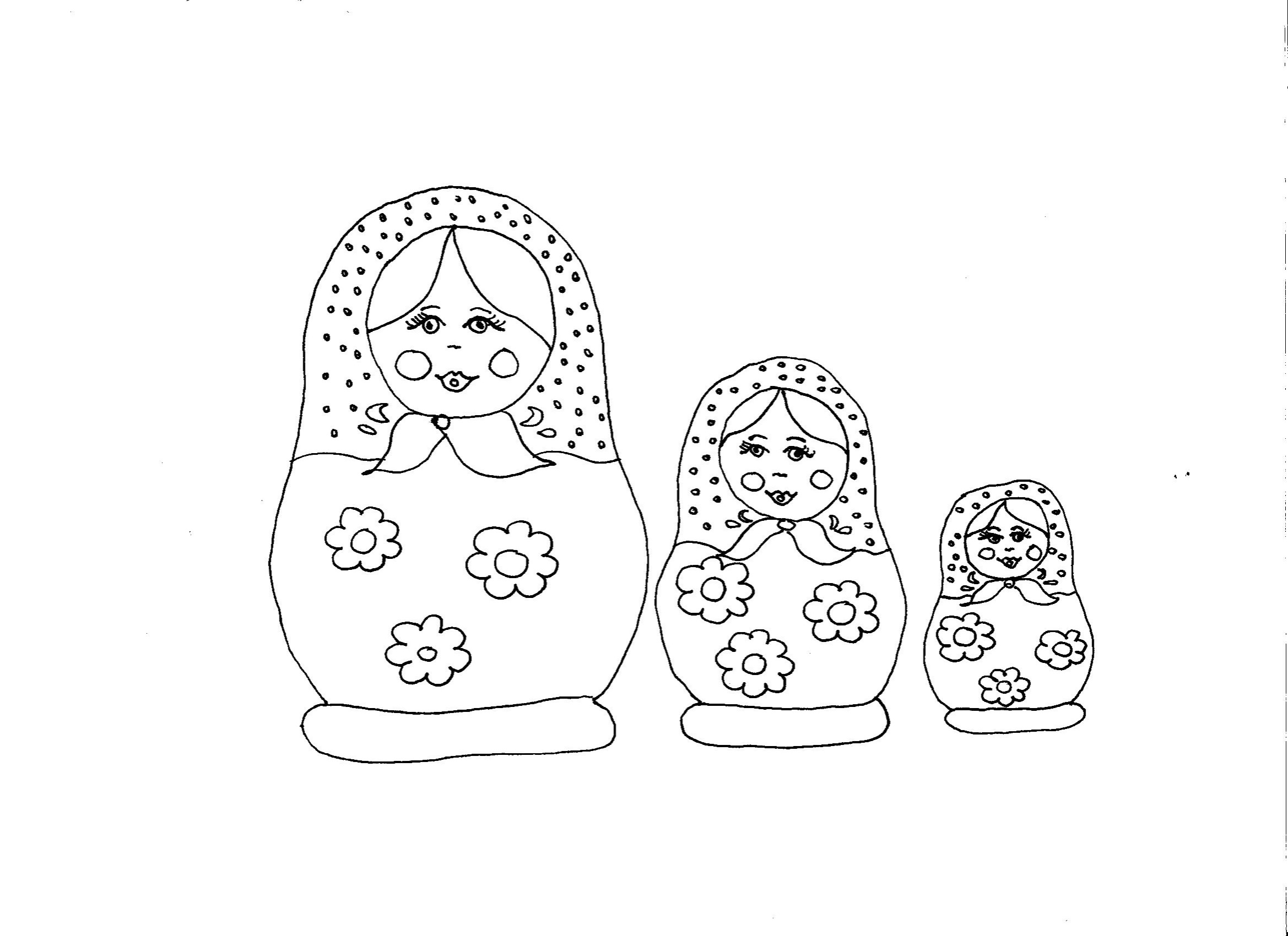 Coloriage_matriochkas