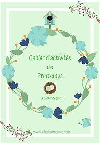 Cahier d'activités de Printemps