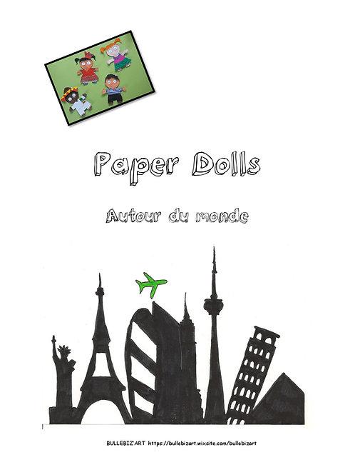 Paper dolls autour du monde