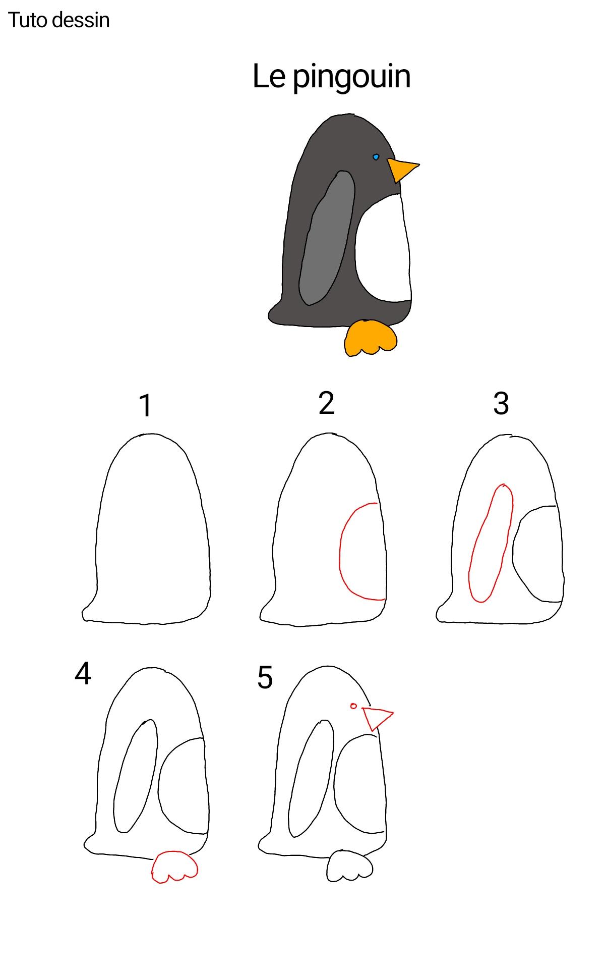 Tuto pingouin