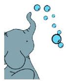 jouet éléphant illustration