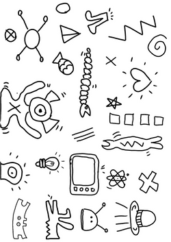 Coloriage_Keith_Haring