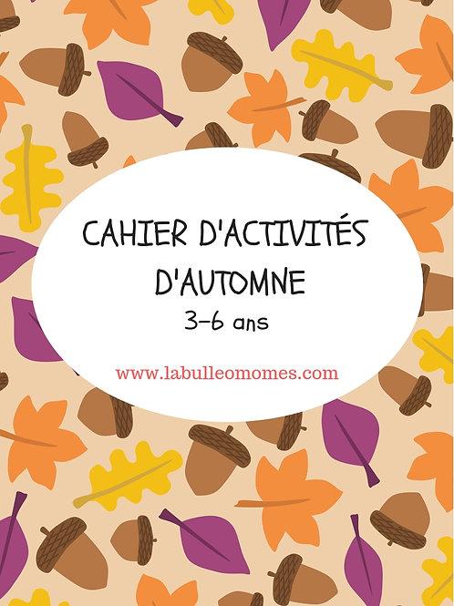 Cahier d'automne