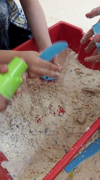 Fabrication de moon sand
