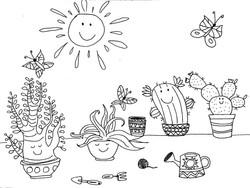 Coloriage_petites_plantes