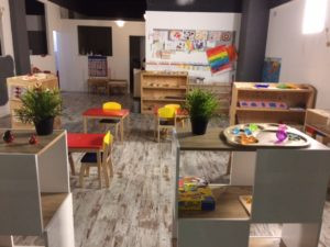 Salle de classe Montessori - Ecole Montessori InternationaleJuan-les-Pins
