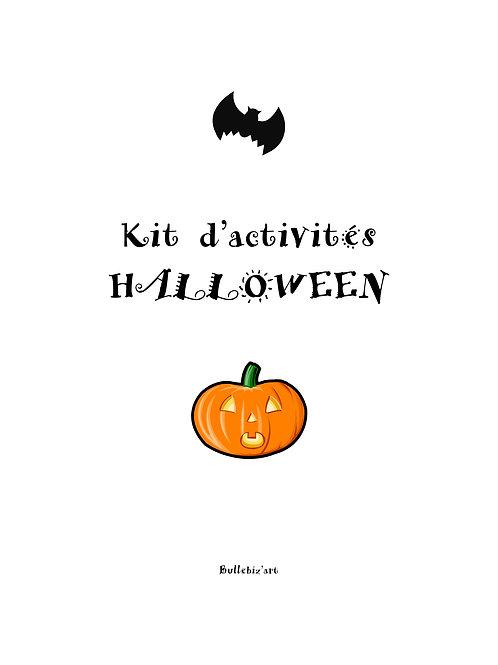 Kit d'activités Halloween