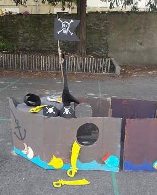 Fabriquer un bateau de pirates