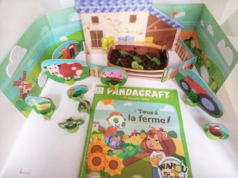"""On teste le kit Pandacraft """"Tous à la ferme"""""""