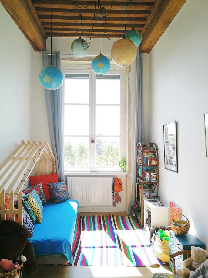 architecture interieure architecte décoratrice décoration Lyon valentine canut globes terrestres chambre enfant