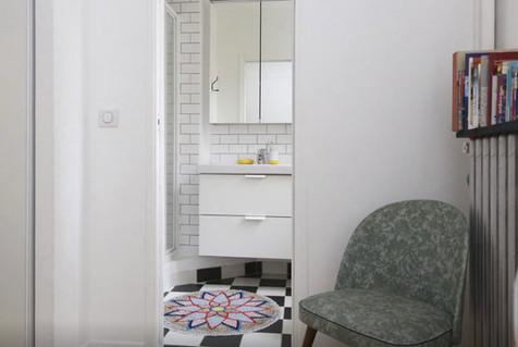 chambre salle de bain paris appartement déco architecture intérieure idées décoration