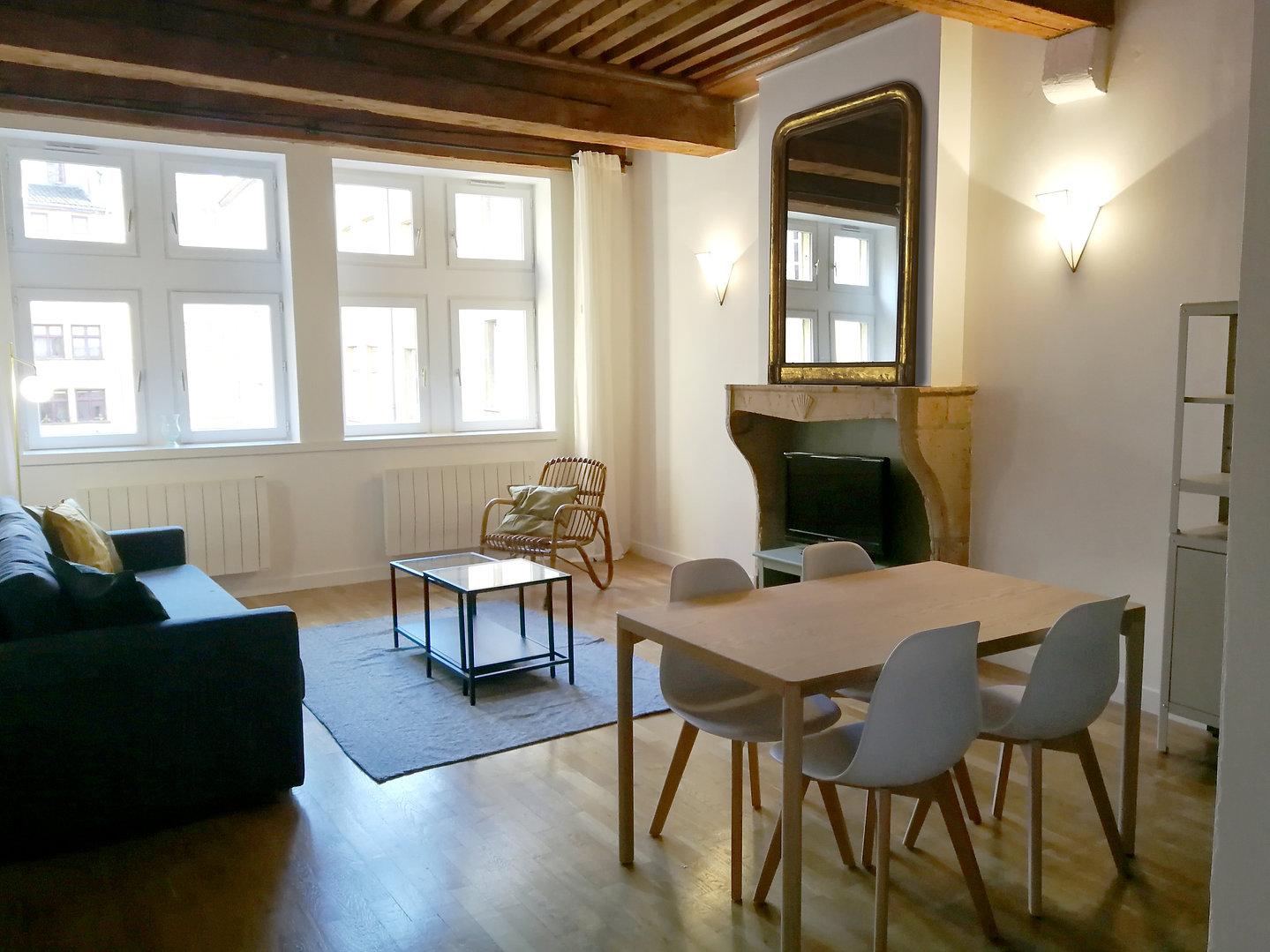 canut vieux lyon appartement déco architecture intérieure idées décoration
