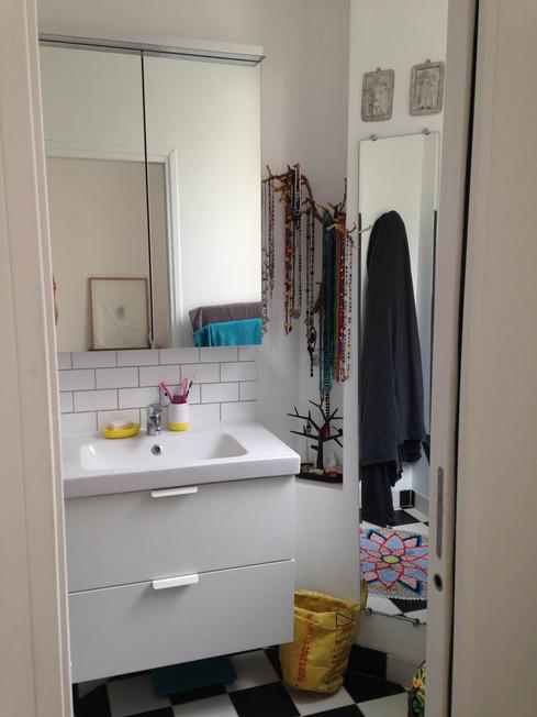 salle de bain paris appartement déco architecture intérieure idées décoration