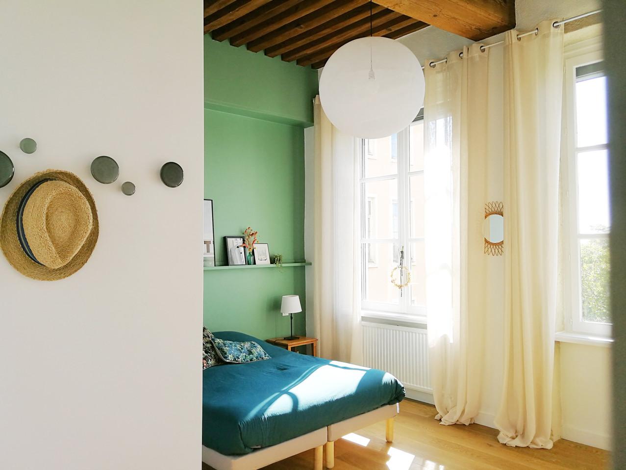 architecture interieure architecte décoratrice décoration Lyon valentine chambre déco canut la case du cousin paul lampe