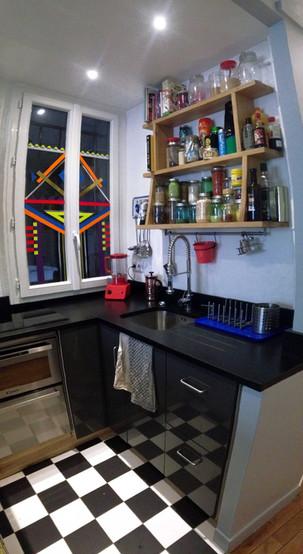 cuisine paris appartement déco architecture intérieure idées décoration
