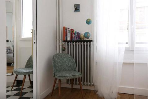 chambre paris appartement déco architecture intérieure idées décoration