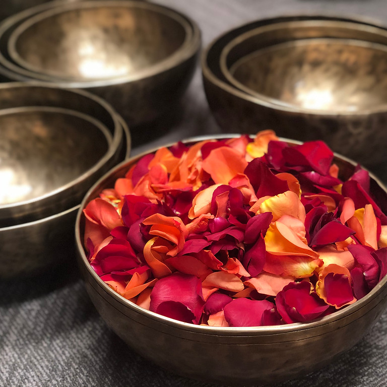SOLD OUT!! Scents & Sounds: Guided Meditation & Sound Bath